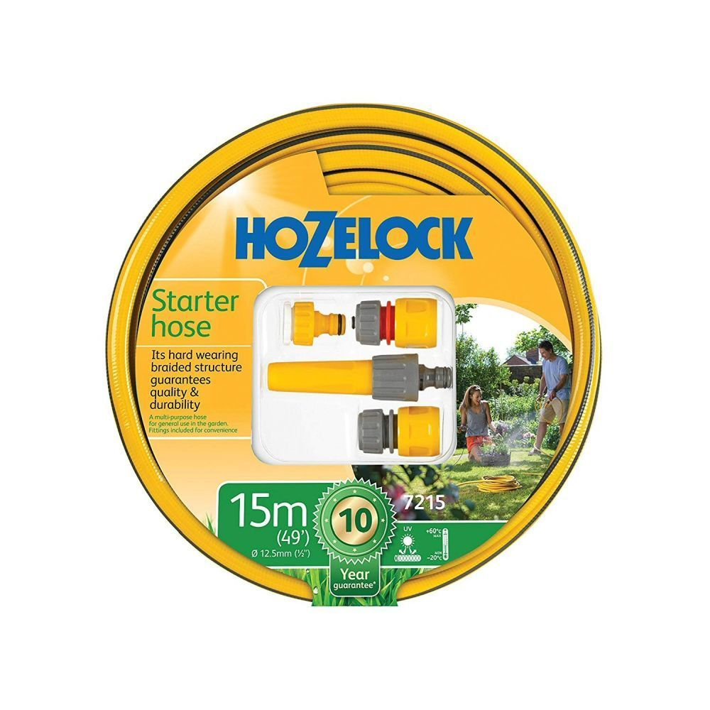 Hozelock 15 Starter Hose with Fittings