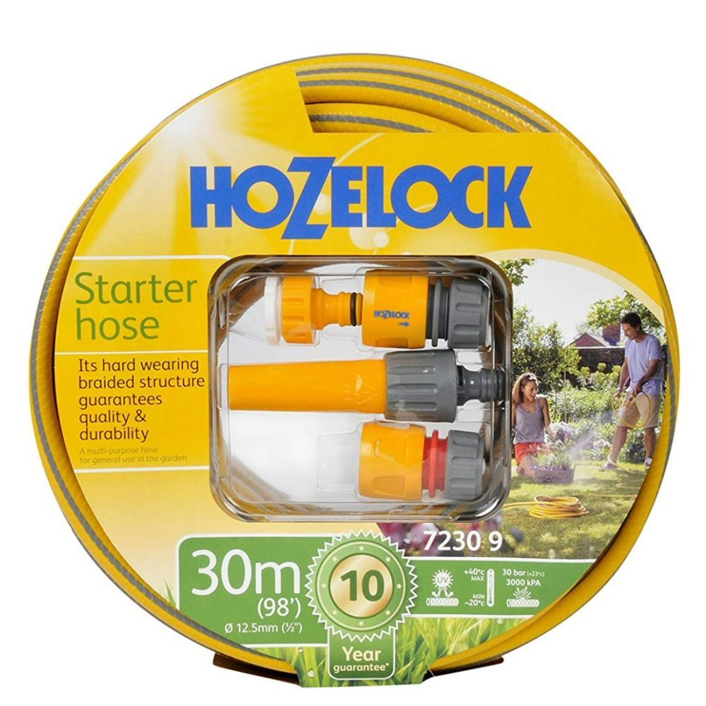 Hozelock 30m  Starter Hose and Fittings