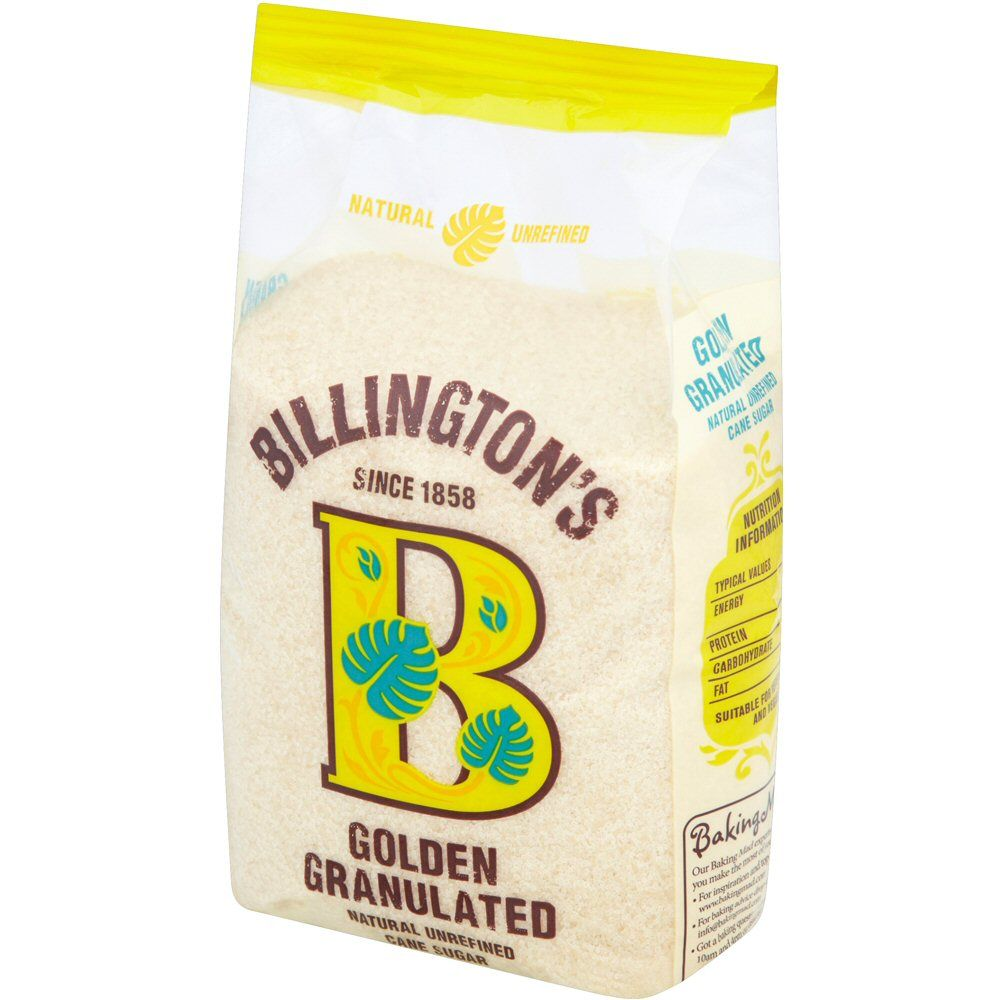 Billingtons 1kg Golden Granulated Sugar