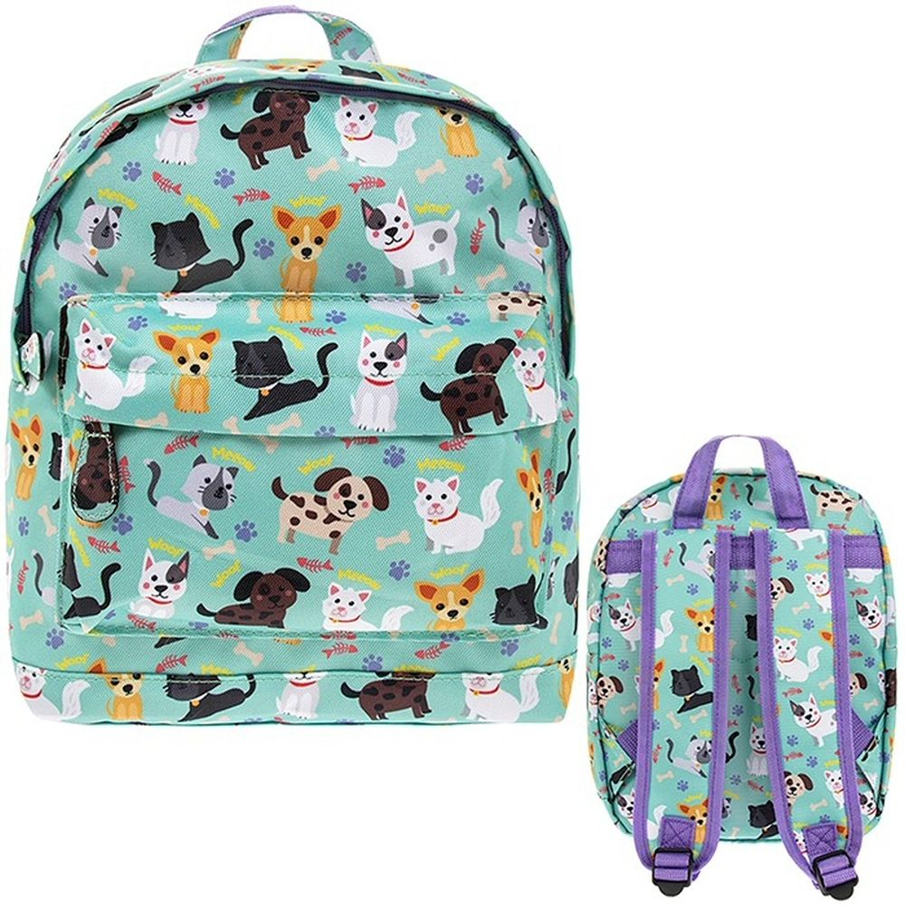 Little Stars Cats & Dogs Backpack