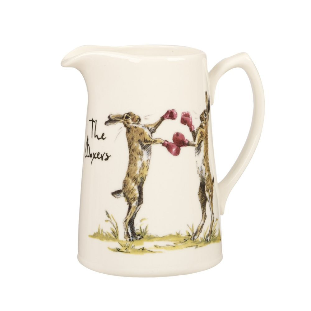 Queens Churchill China 0.5 Pint Country Pursuits The Boxer Jug