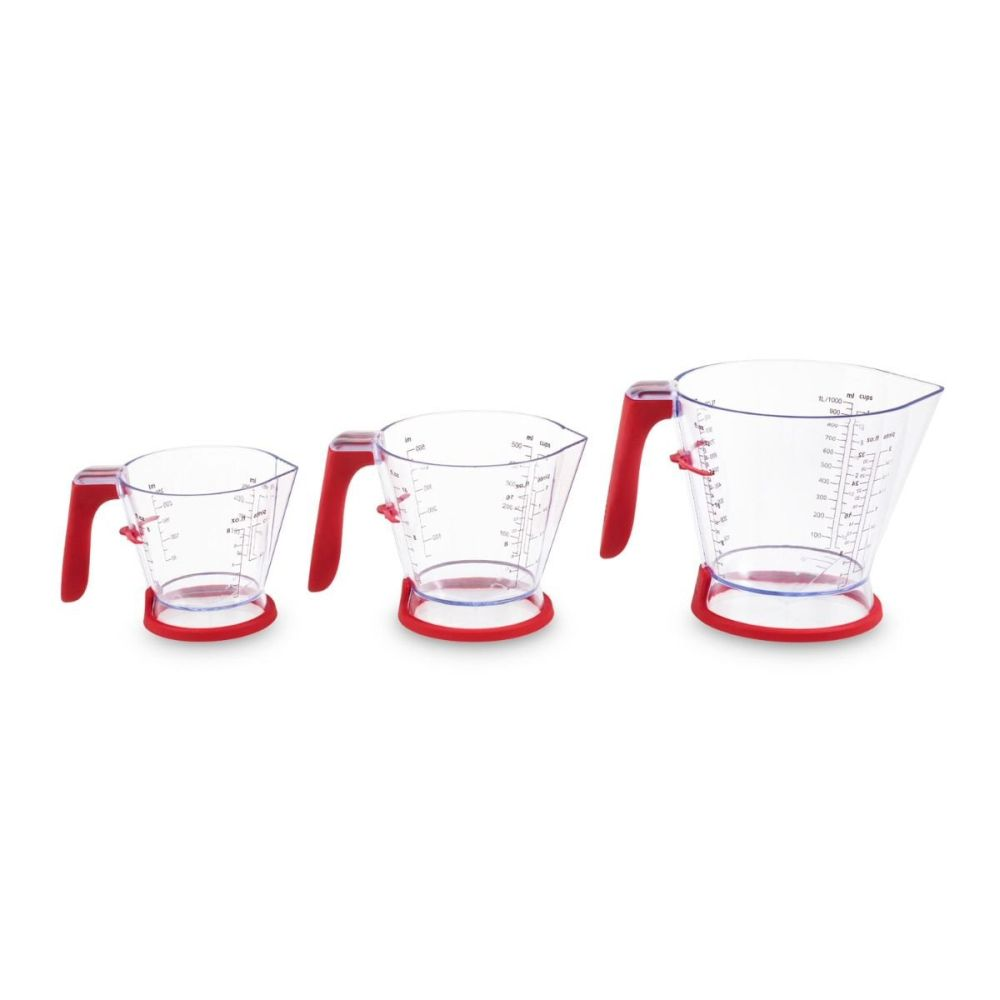 Zyliss 3 Piece Measuring Jug Set