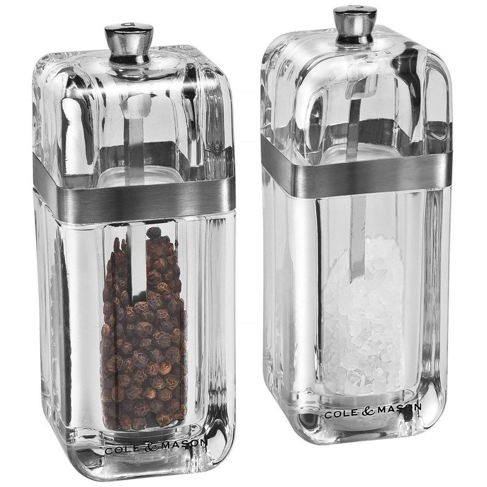 Cole and Mason 130mm Precision Kempton Salt and Pepper Gift Set