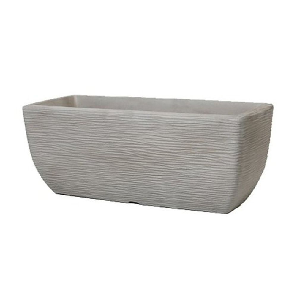 Stewarts 60cm Grey Cotswold Trough Planter