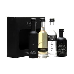 Penderyn Distillery 4 x 5cl Miniatures Mini Pack