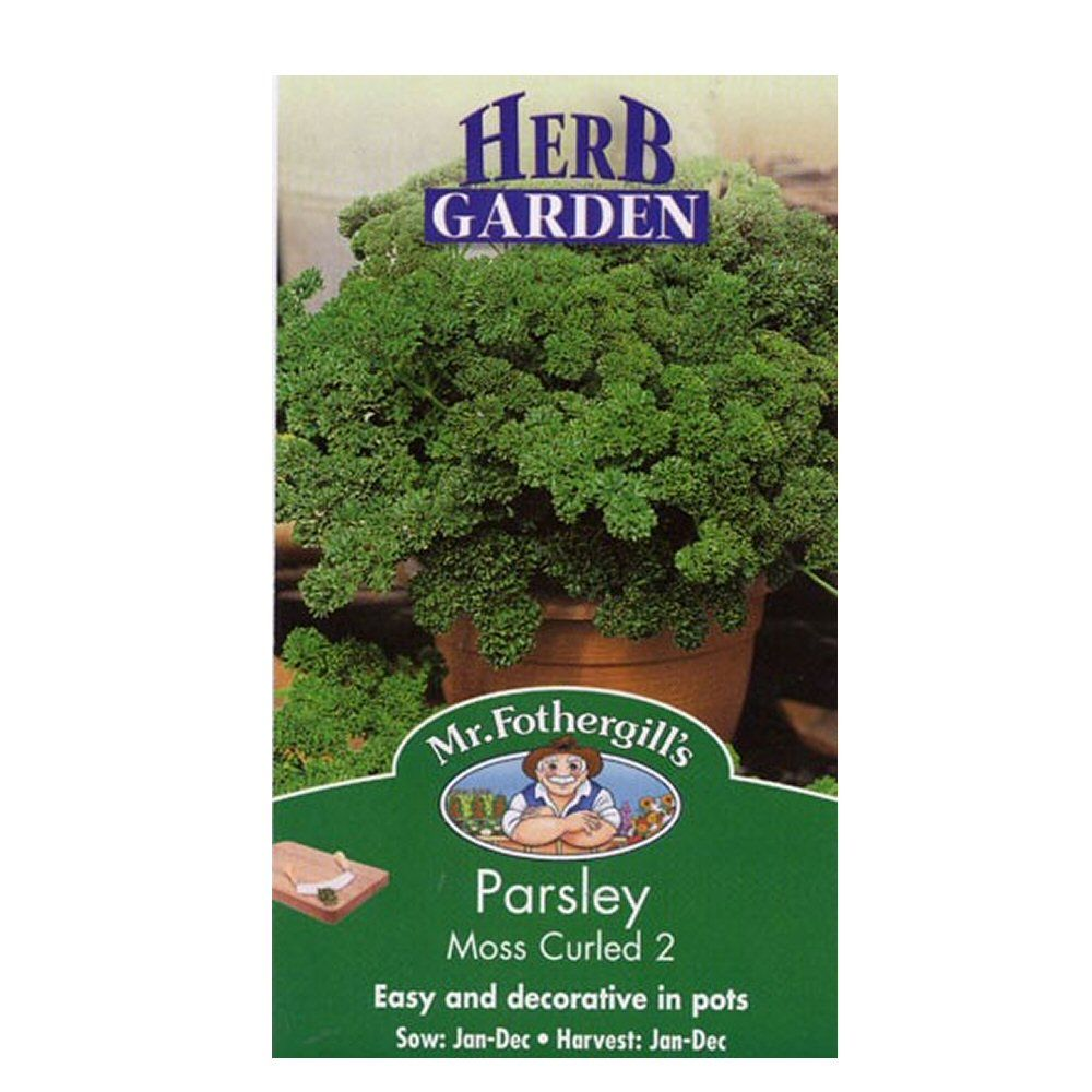 Mr Fothergill's Moss Curled 2 Parsley Herb Seeds