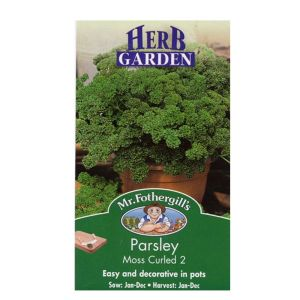 Mr Fothergills Moss Curled 2 Parsley Herb Seeds - 16307