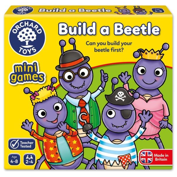 Orchard Toys Build a Beetle Mini Game - Board Games - Old