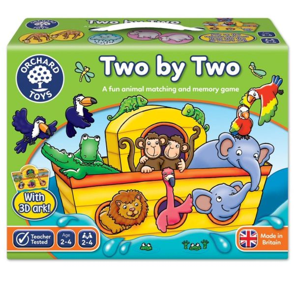Orchard Toys Noah's Ark Two by Two Game - Board Games - Old
