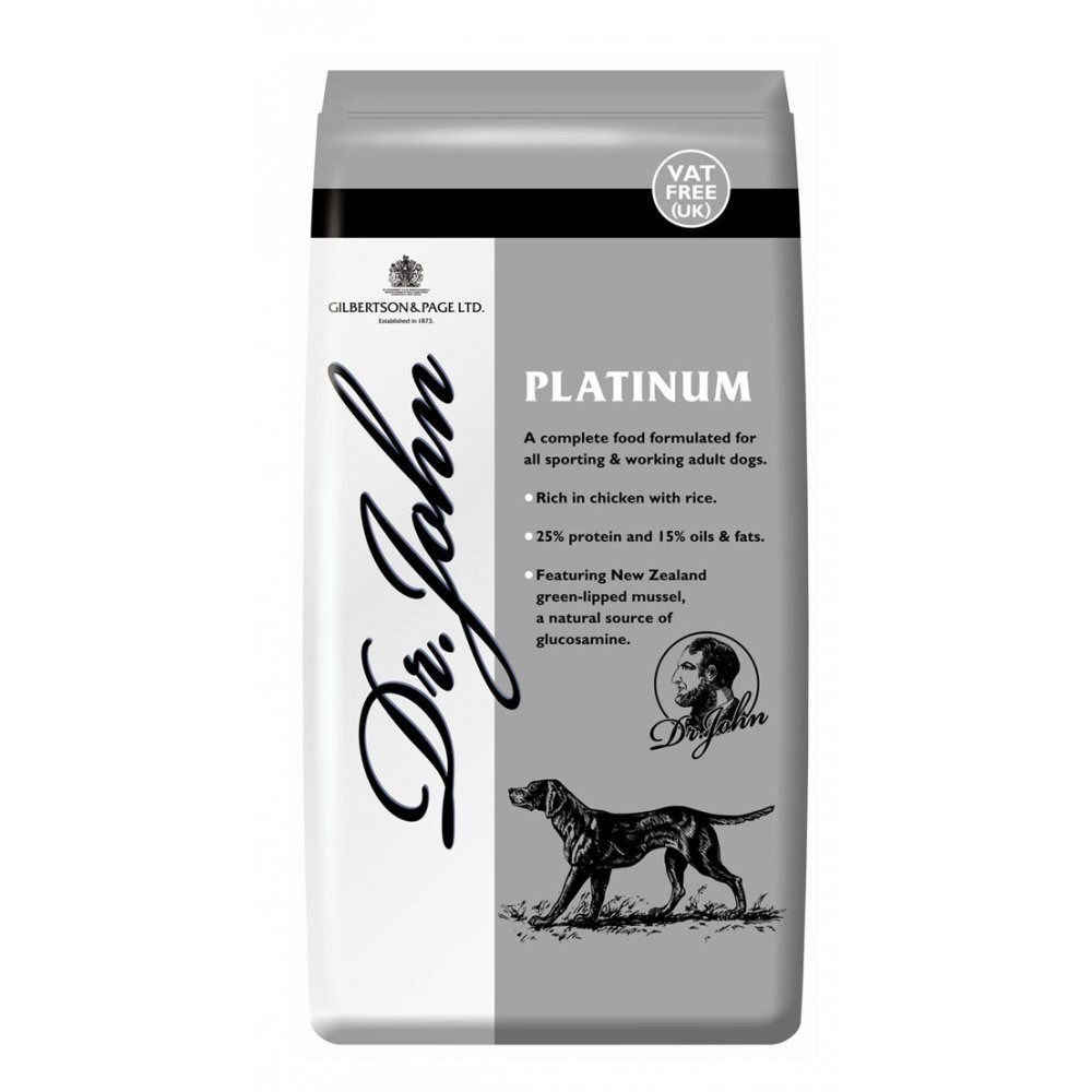 Dr John 15kg Platinum Dog Food