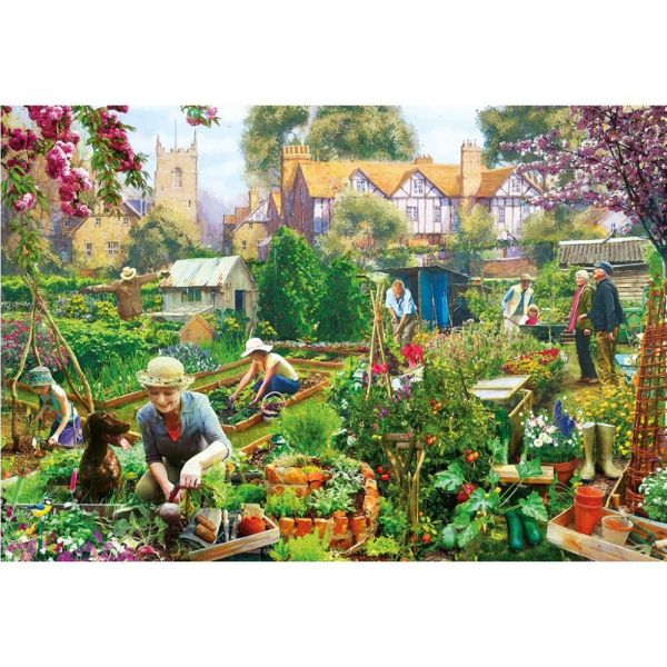 bba0f909cf8b Gibson Games 500 Piece Green Fingers Jigsaw Puzzle - Puzzles - Old ...