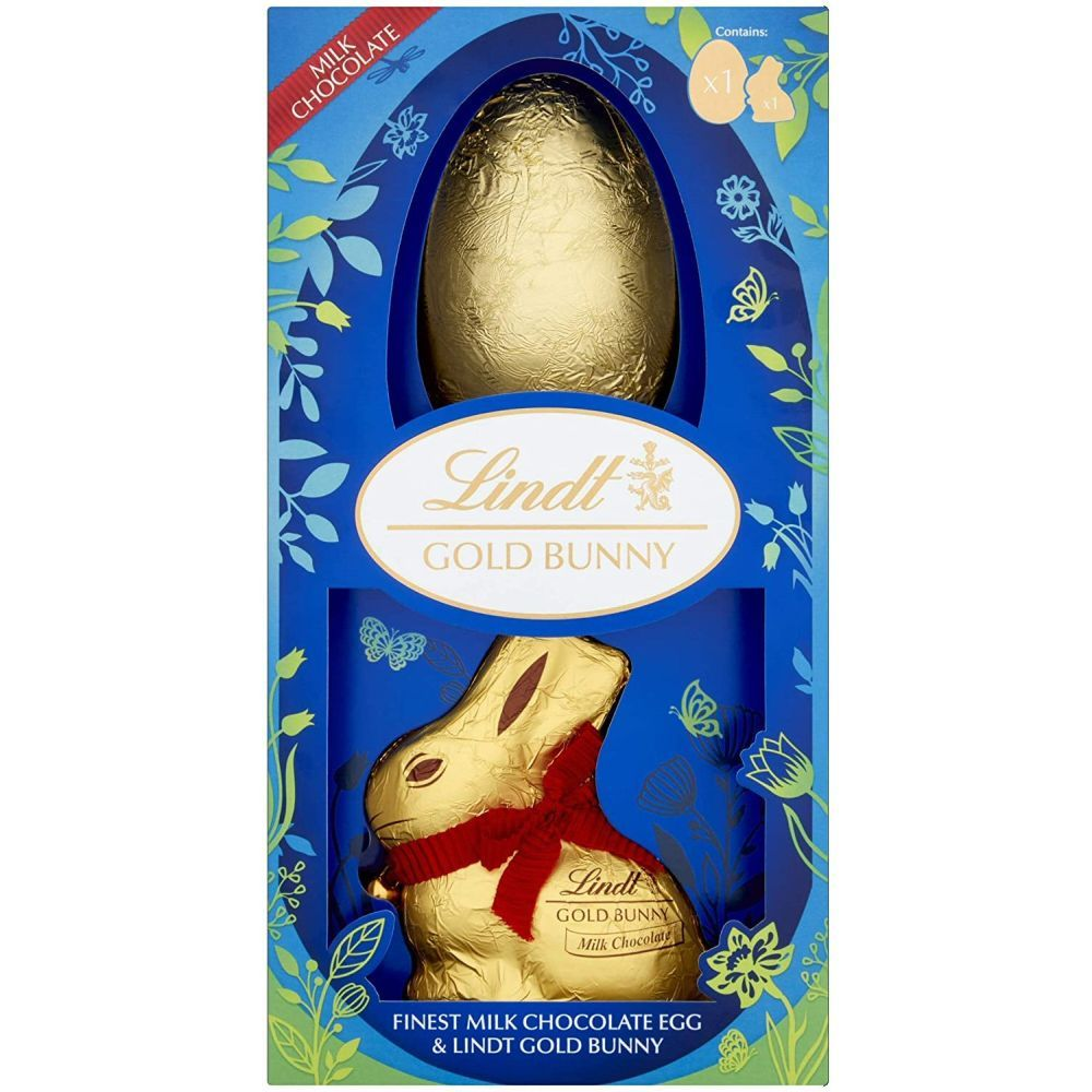 Lindt Milk Chocolate Gold Bunny Easter Egg 195g