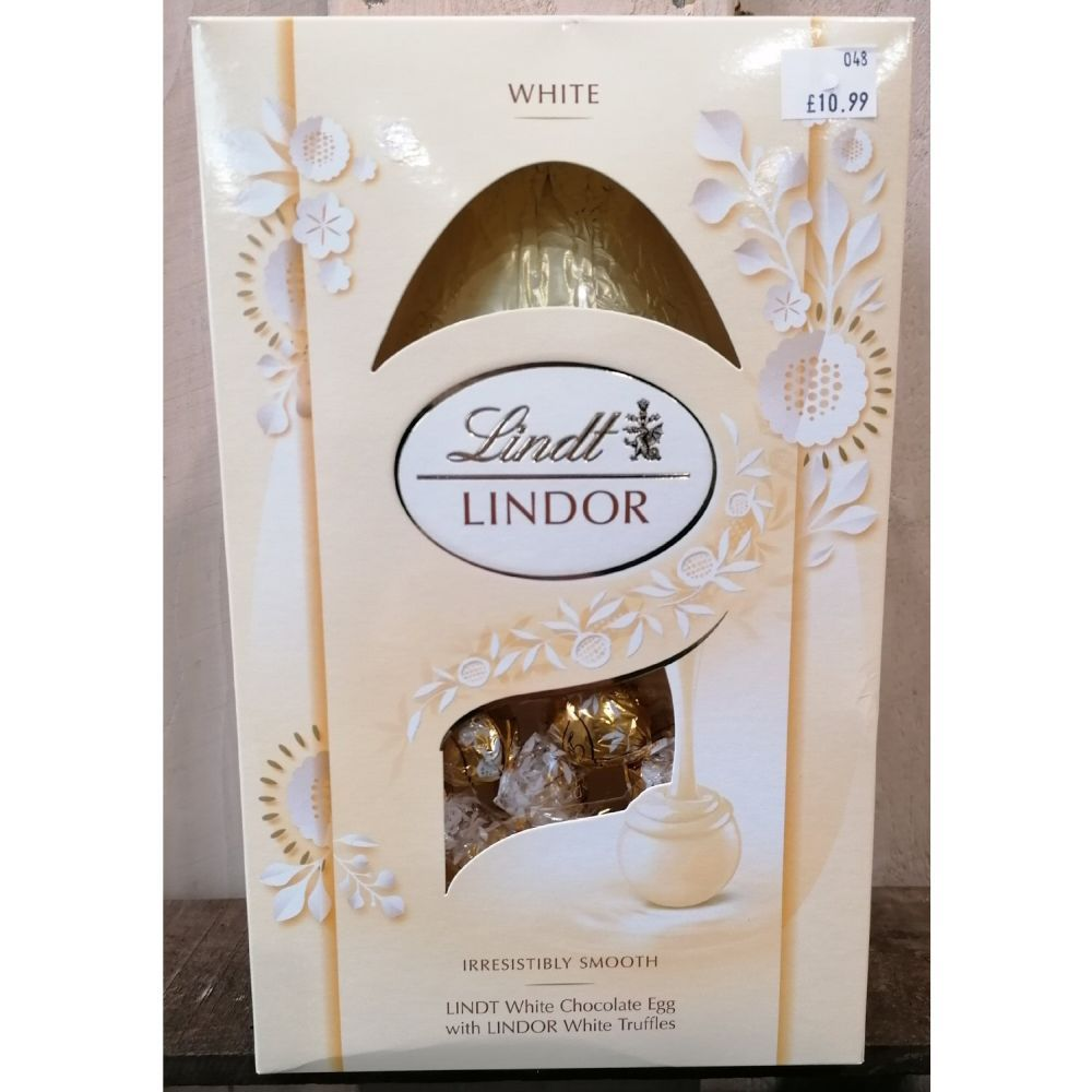Lindt Lindor White Egg with Truffles 260g