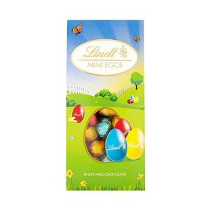 Lindt 200g Solid Mini Milk Chocolate Egg Canister