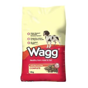 Wagg Complete 12kg Beef & Veg Dog Food