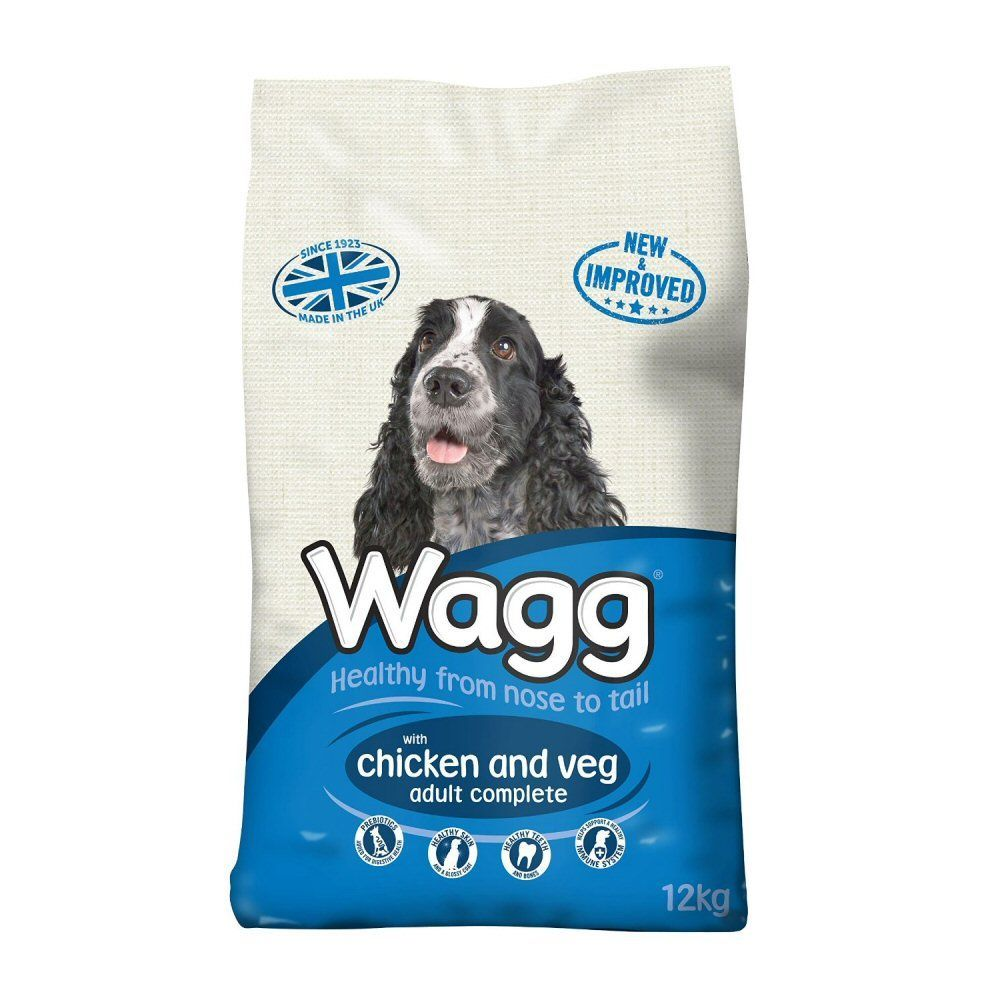 Wagg Complete 12kg Chicken & Vegetable Dog Food