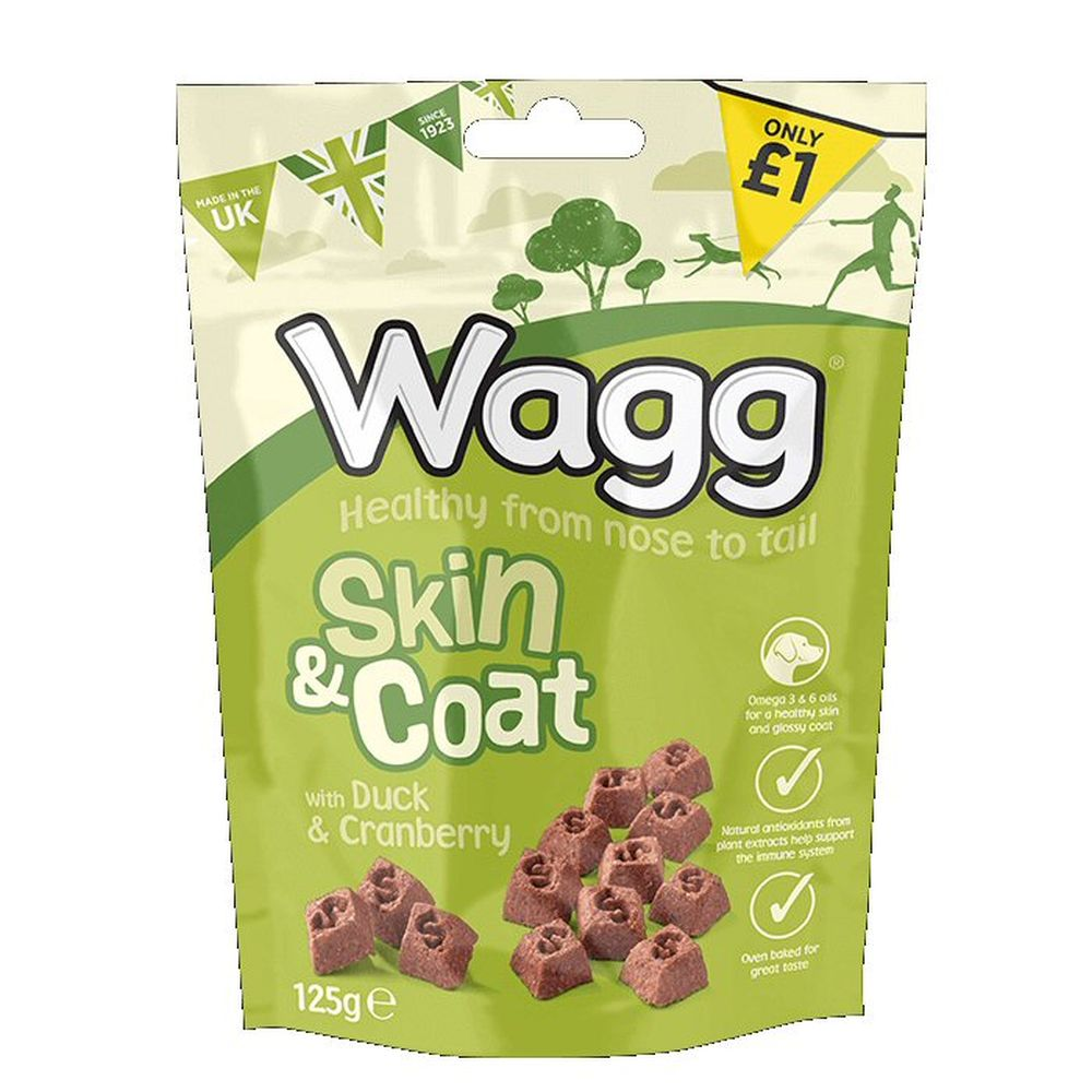 Wagg 125g Skin & Coat Treats