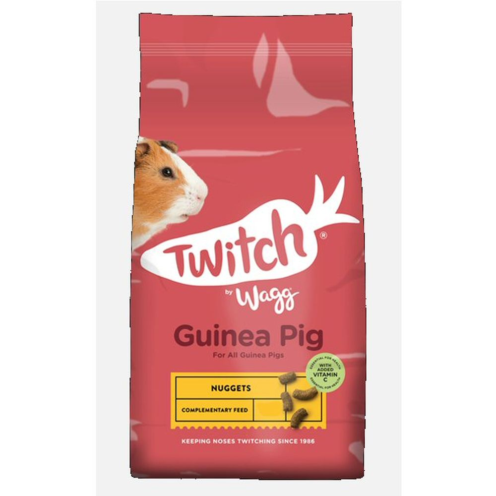 Wagg Twitch 10kg Guinea Pig Food