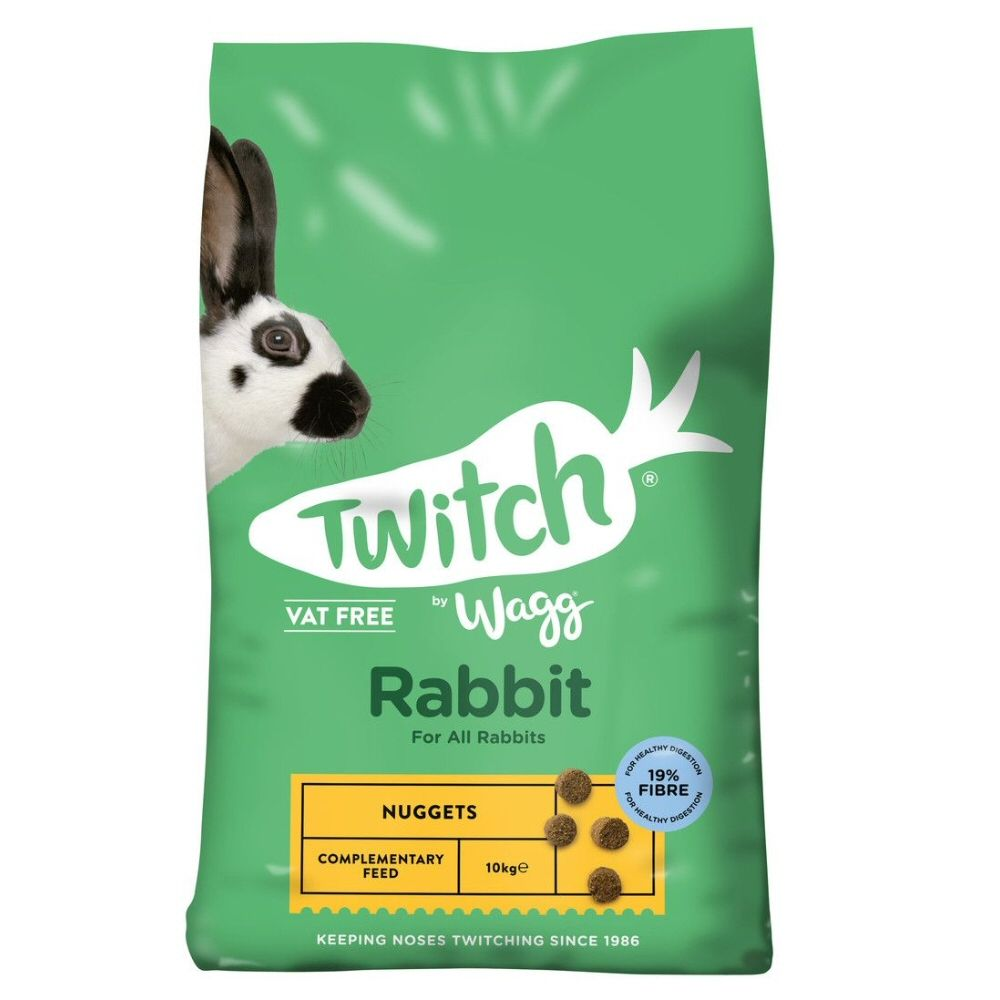 Twitch by Wagg 10kg Rabbit Nuggets