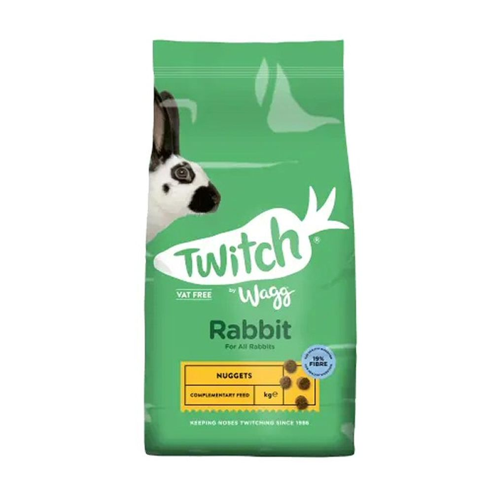 Wagg Twitch 2kg Bunny Brunch Food