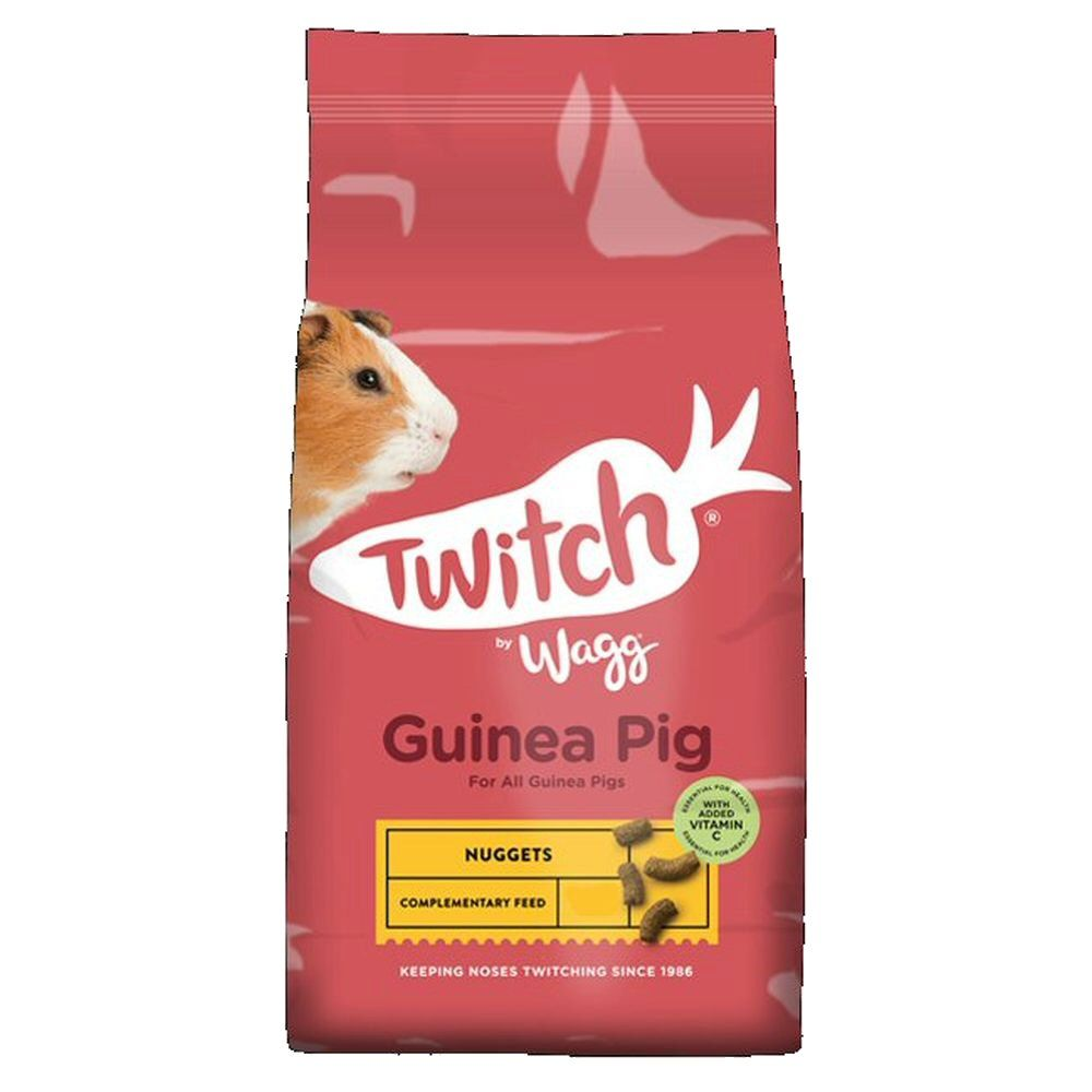 Wagg Twitch 2kg Guinea Pig Crunch Food