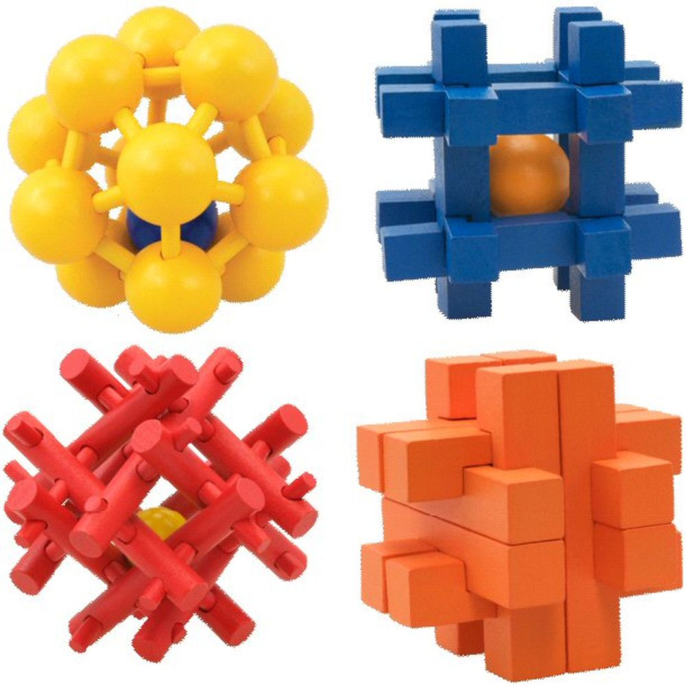 Cheatwell Games IQ Buster Ball Trap Puzzles (Choice of 4)