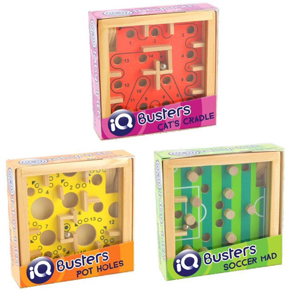 Cheatwell Games IQ Buster Labyrinth Puzzle (Choice of 3)