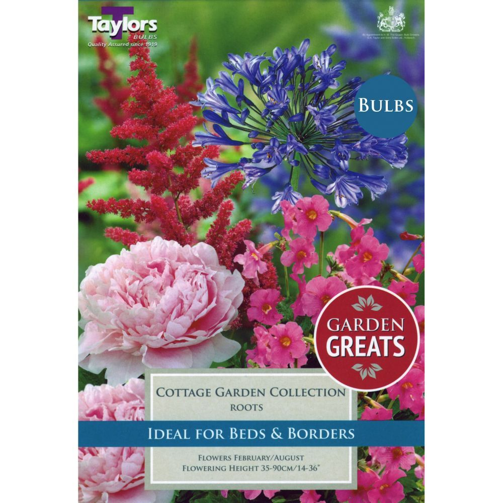 Taylors 4 Cottage Garden Collection Bulbs