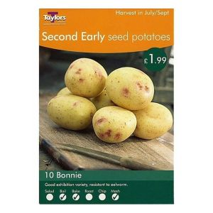 Taylors 10 Bonnie Second Early Seed Potatoes