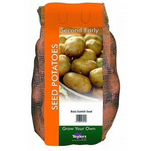 Taylors 2kg Wilja Second Early Seed Potatoes