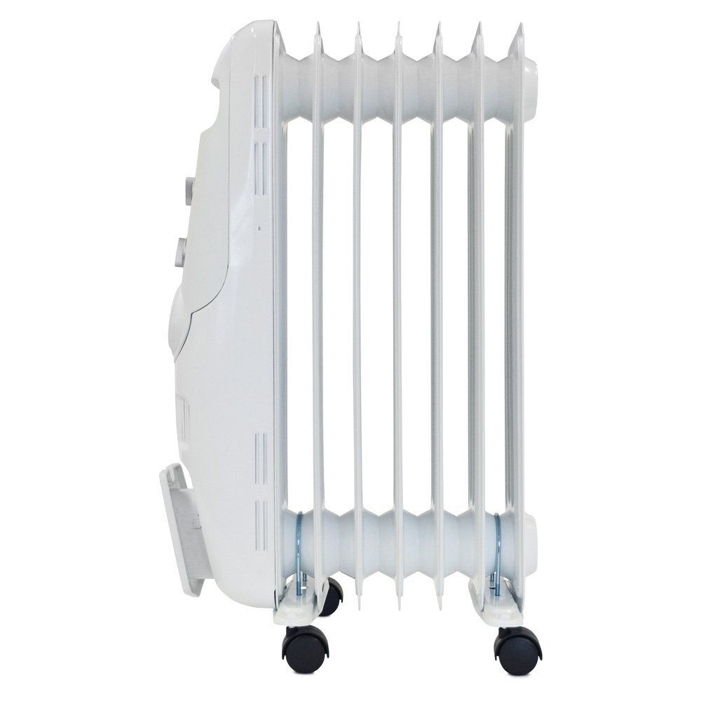 Igenix White 1.6kW Oil Filled Radiator