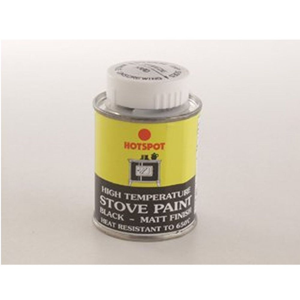 Hotspot 100ml Stove Paint Tin Black