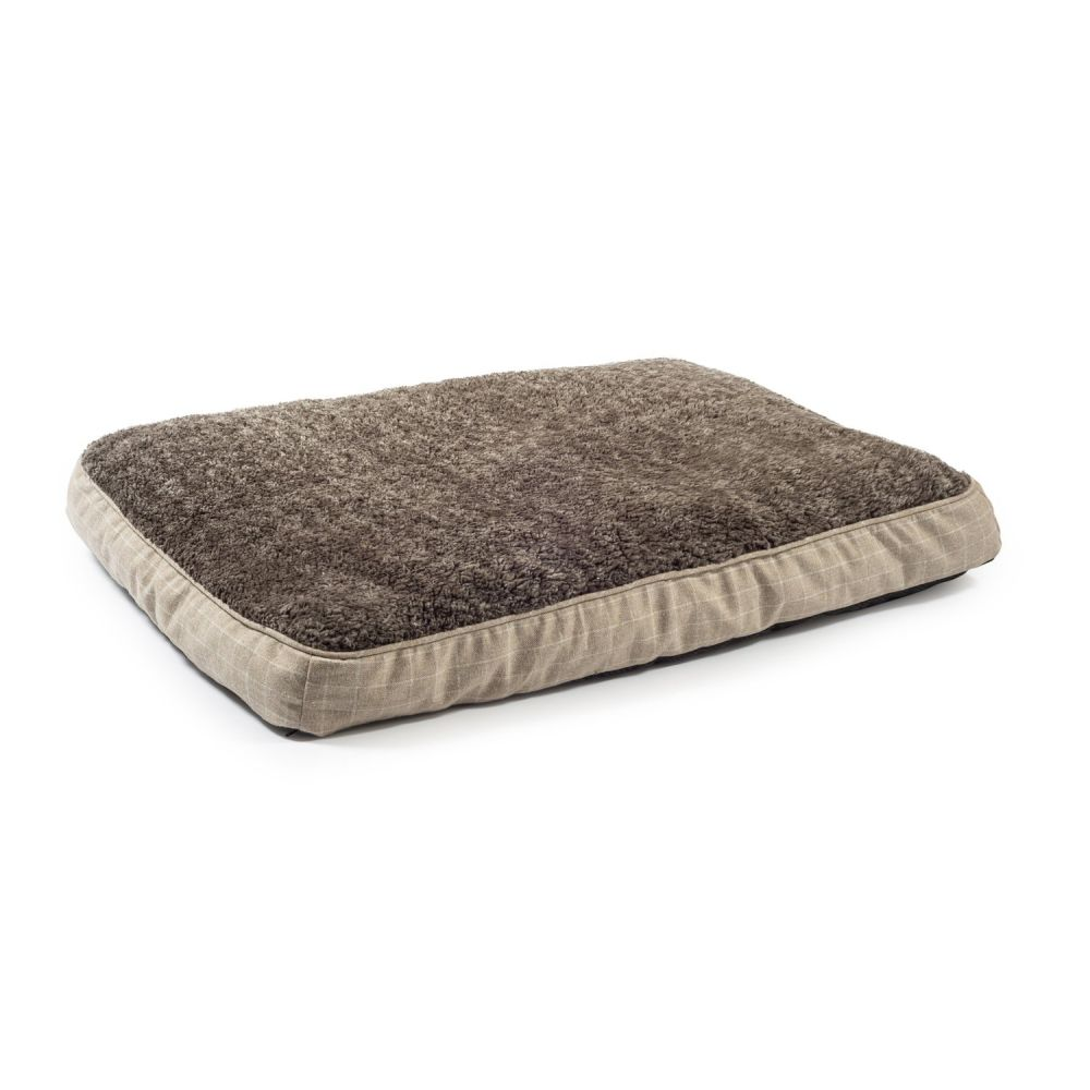 Ancol Cream 100x70cm Joint Ease Memory Dog Bed