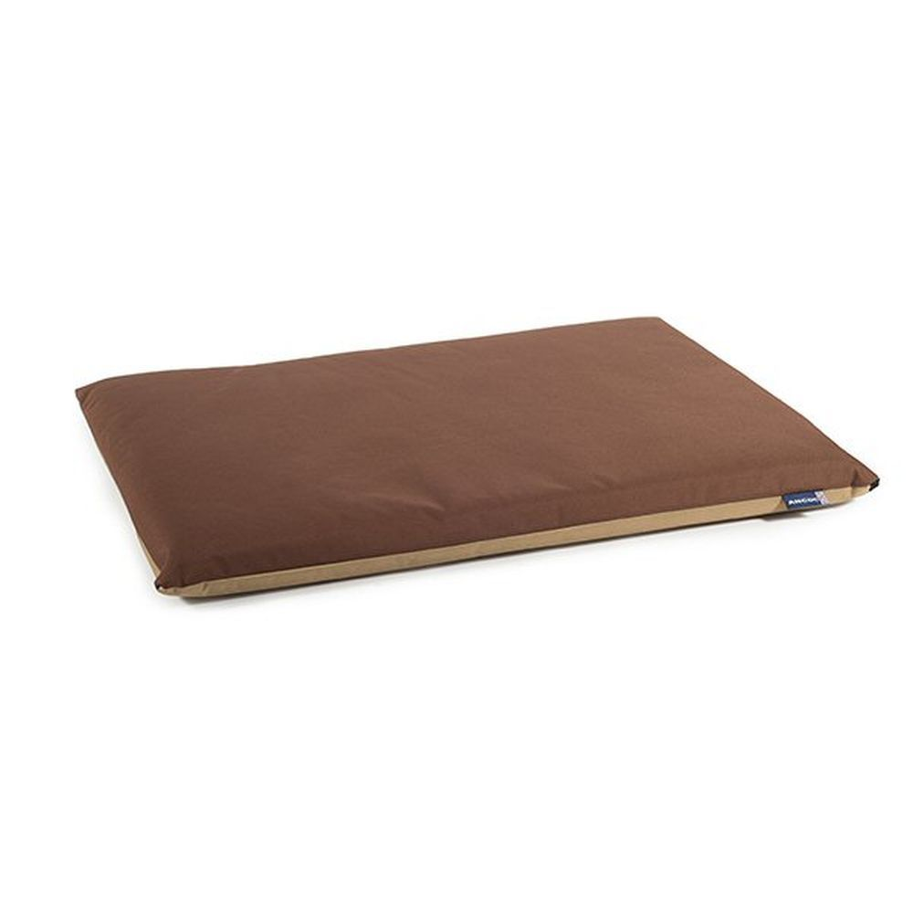 Ancol 61cm Brown Waterproof Pad Dog Bed - 555100