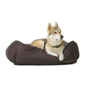 Ancol Timberwolf Extreme Large Brown Domino Waterproof Dog Bed - 556000