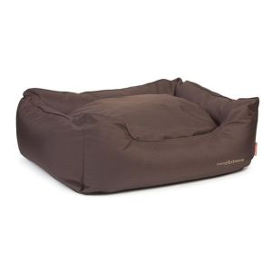 Ancol Timberwolf Extreme Jumbo Brown Domino Waterproof Dog Bed - 556100