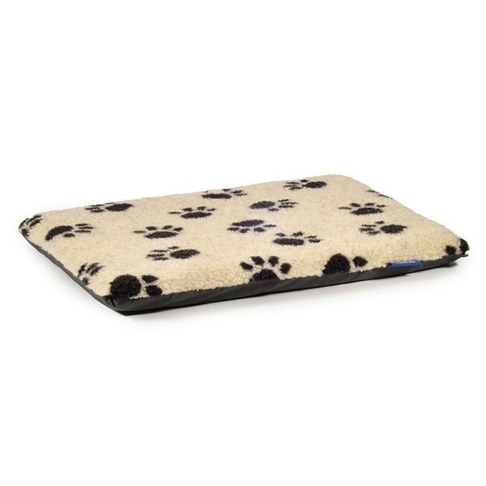 Ancol Sleepy Paws Small Paw Print Flat Pad Dog Bed