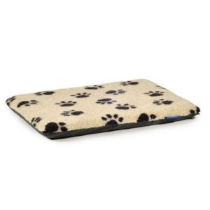 Ancol Sleepy Paws Extra Large Paw Print Flat Pad Dog Bed - 558300