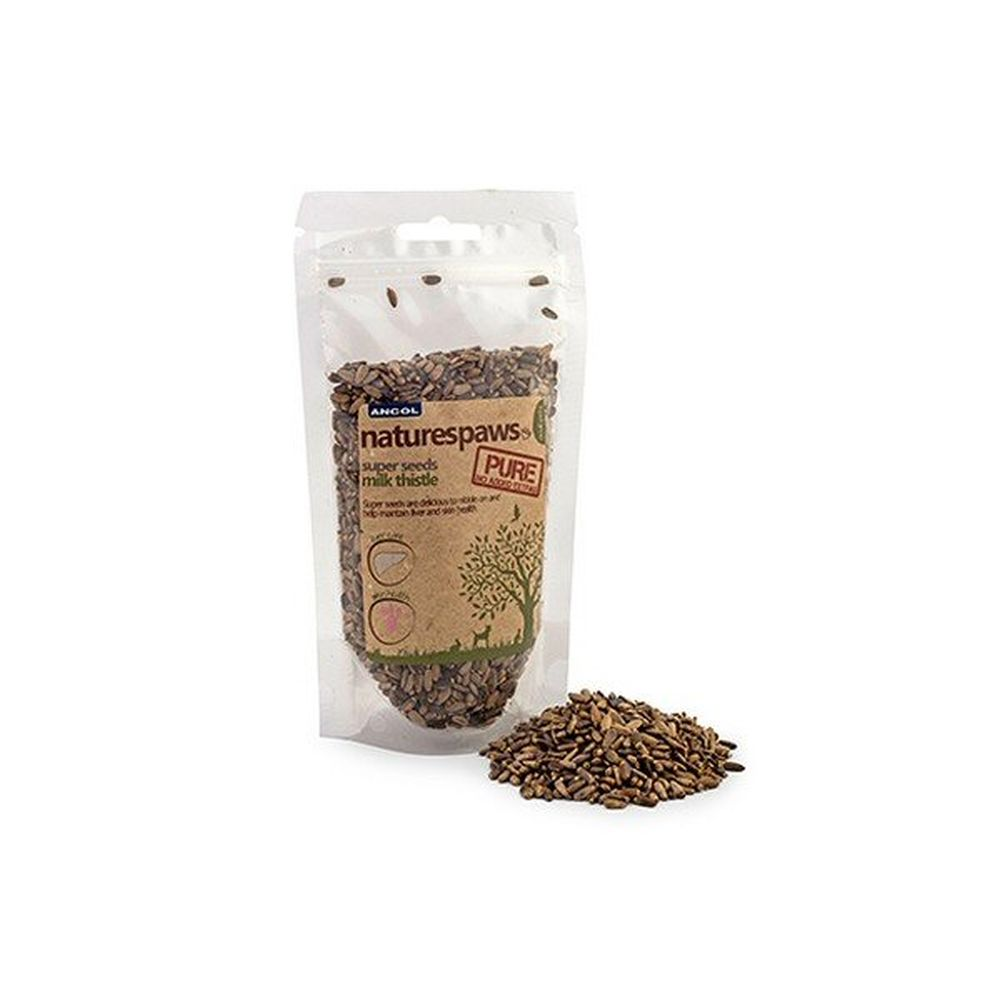 Ancol 140g Natures Paws Milk Thistle Seed