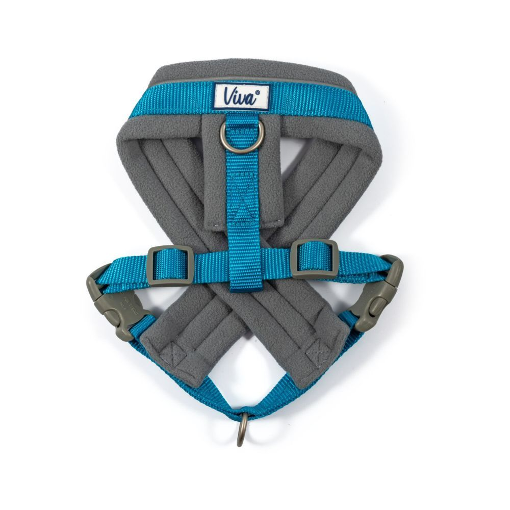 Ancol Blue Viva Padded Harness - Medium