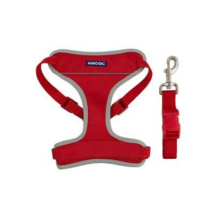 Ancol Medium Red Travel Harness