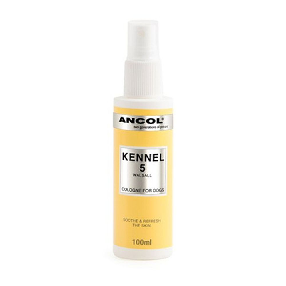 Ancol 100ml Kennel 5 Dog Cologne - 390190