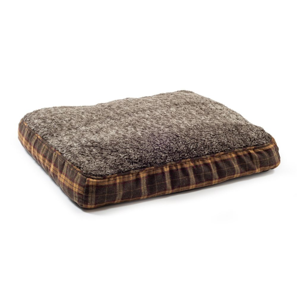 Ancol Brown 100x70cm Joint Ease Memory Dog Bed