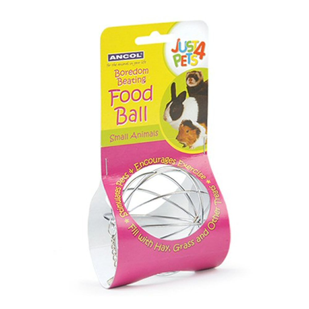 Ancol Just 4 Pets Small Animal Food Ball - 164007