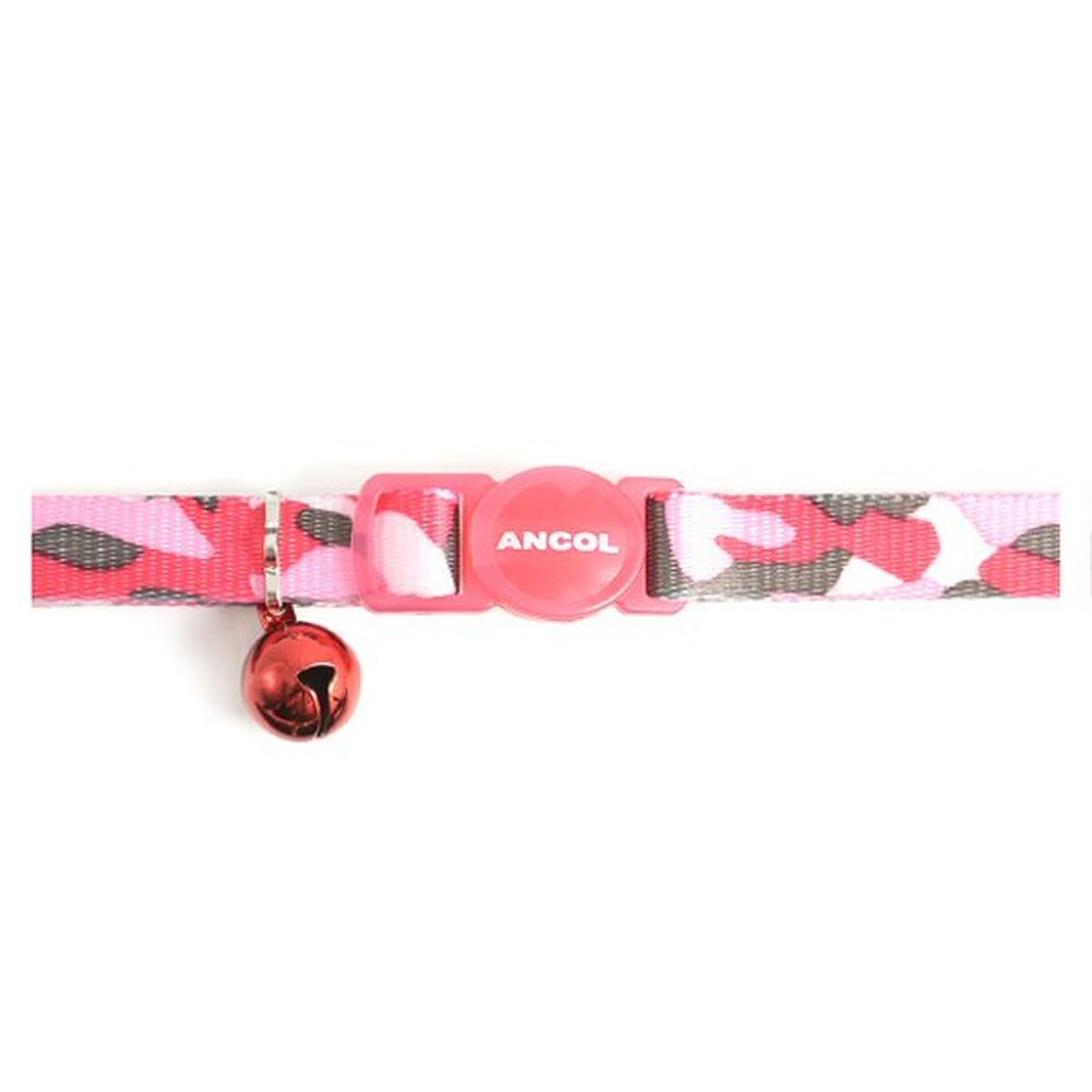 Ancol Pink Camouflage Cat Collar - 671250