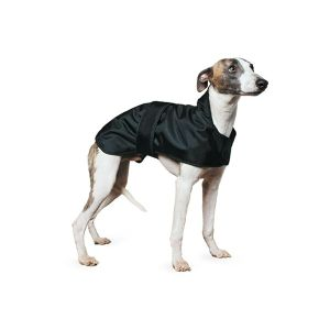 Ancol Muddy Paws 43cm Black Whippet Coat - 980044