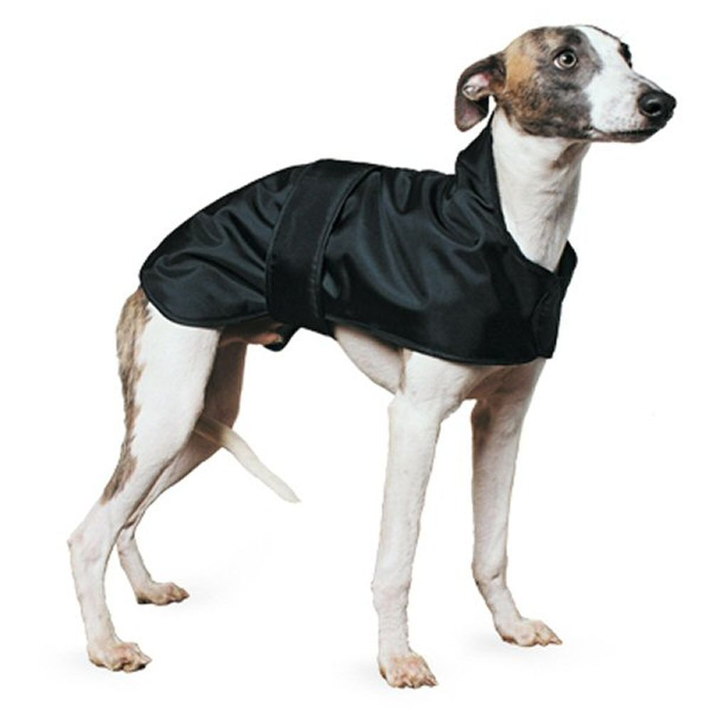 Ancol Muddy Paws 53cm Black Whippet Dog Coat