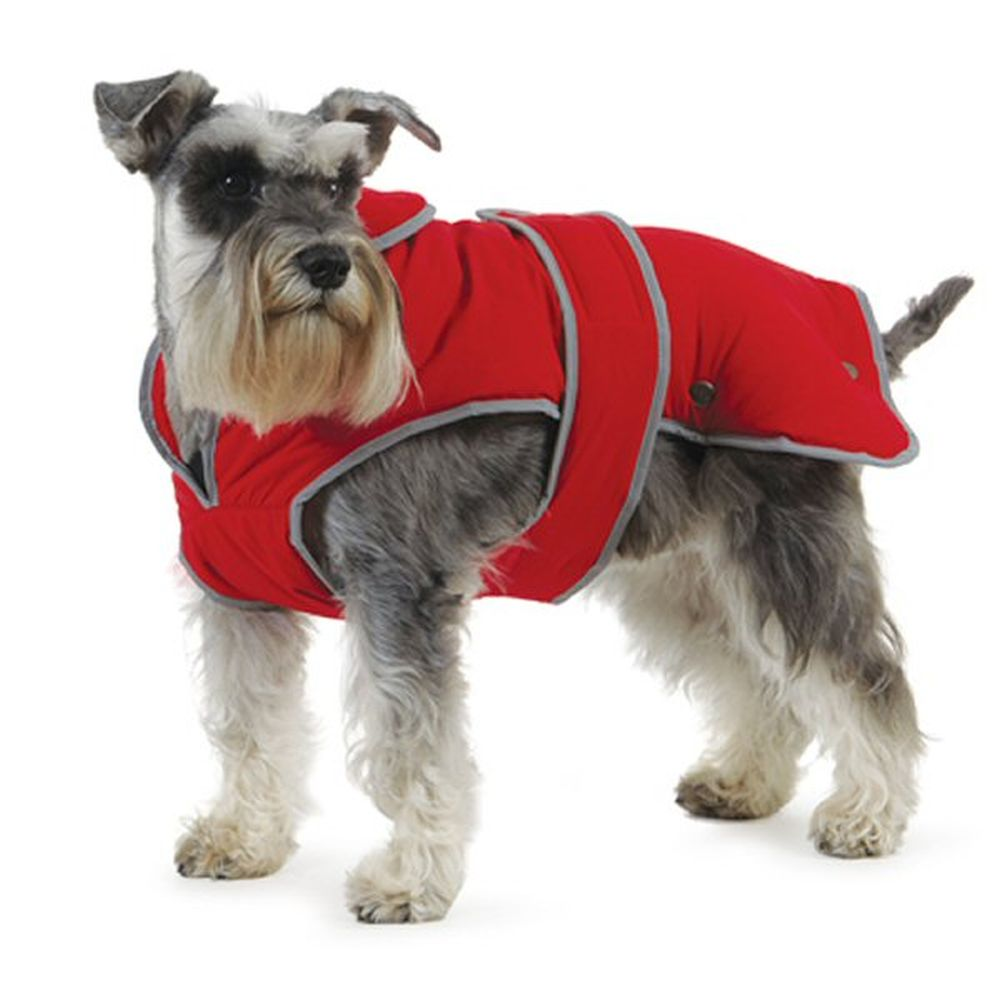 Ancol Muddy Paws XXL Large Red Stormguard Dog Coat - 980153