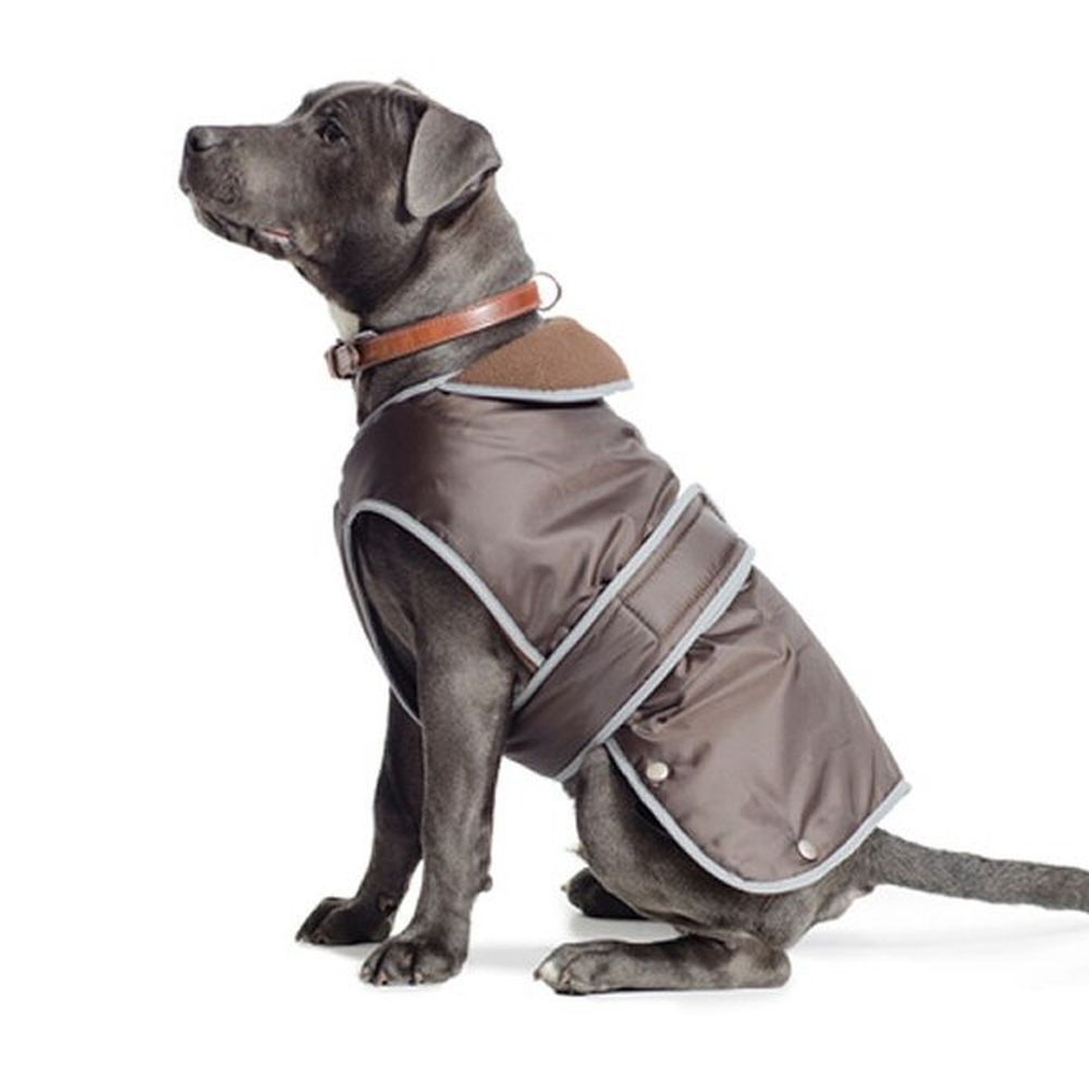 Ancol Muddy Paws Large Chocolate Stormguard Dog Coat - 980183