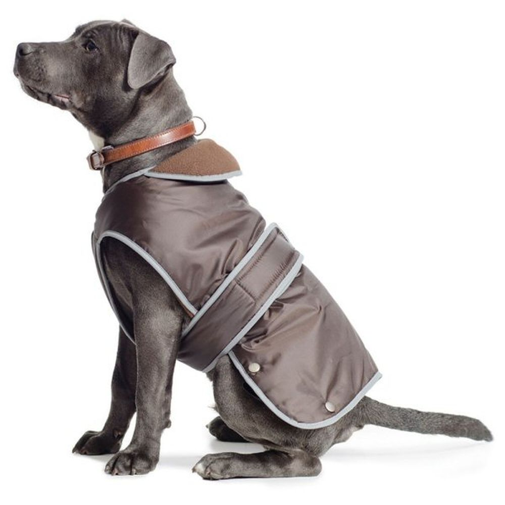 Ancol Muddy Paws X Large Chocolate Stormguard Dog Coat - 980184